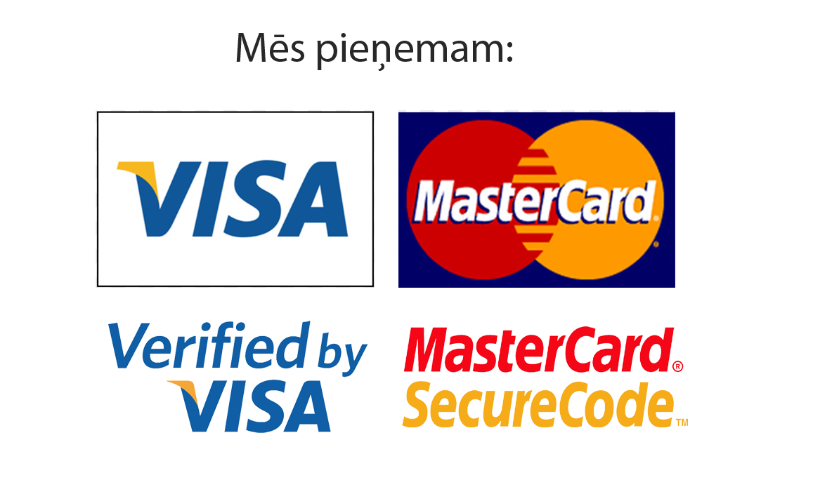 Visa and master cards